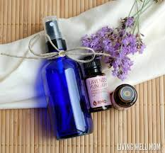 diy homemade linen spray with essential