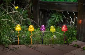 led solar mushroom lights es