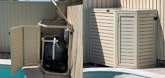Pool Equipment Enclosure Screens By Design