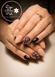 Manicure Hybrydowy Przedluzanie Na Tipsie Manicure Paznokcie
