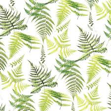 Fern Leaves Decal Fused Glass Or Ceramics