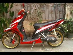 video modifikasi motor honda vario velg