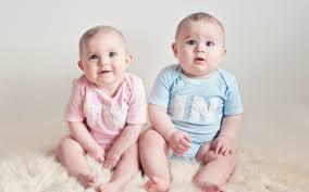 cute baby twins wallpaper