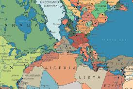 El mapa que muestra cómo sería el mundo si aún existiera Pangea