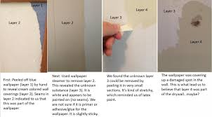 wallpaper glue or primer painting
