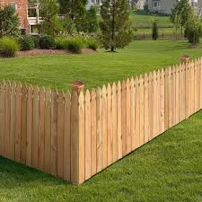 Outdoor Essentials 3 1 2 Ft X 8 Ft Western Red Cedar Privacy French Gothic Fence Panel Kit 245321 The Home Depot