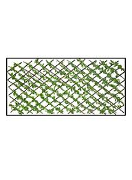 Shop Yatai Expandable Wicker Fence With Artificial Leaves Green 45x45millimeter Online In Dubai Abu Dhabi And All Uae