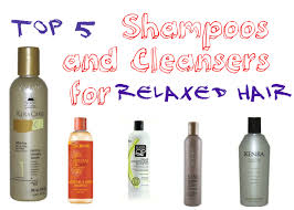 shoos and cleansers for relaxed hair