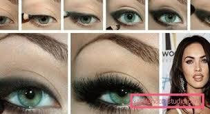 megan fox eyes makeup saubhaya makeup
