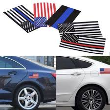 Police Officer Thin Blue Line American Flag Vinyl Decal Car Sticker Buy At A Low Prices On Joom E Commerce Platform
