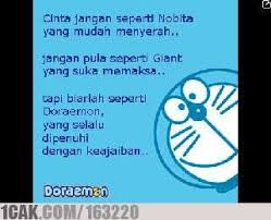 doraemon quote for fun only