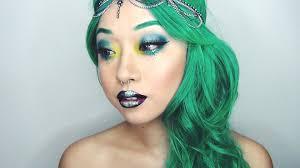 dramatic mermaid makeup tutorial how