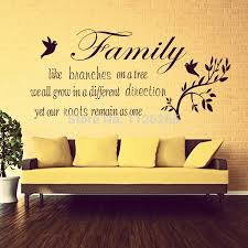 home family blessing english quotes wall stickers decal kids digital