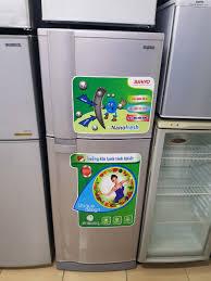 Tủ lạnh SANYO cũ 195L ,mới 90%, xả tuyết tự động, nano fresh ...