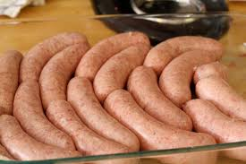 making bratwurst at home