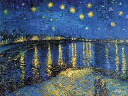 starry night over the rhone wallpapers