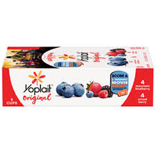 yoplait original low fat yogurt 4