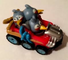 Angry Birds GO! Telepods Kart Series 1~ Baby Blue Birds