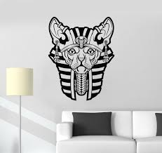 Vinyl Wall Decal Ancient Egypt Egyptian Sphynx Cat Pharaoh Stickers Mu Wallstickers4you