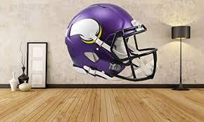 Amazon Com Minnesota Vikings Helmet Sticker Minnesota Vikings Helmet Decal Vikings Decal Vikings Sticker Minnesota Vikings Home Decor Minnesota Vikings Bumper Sticker Vmbb05 15x15 Arts Crafts Sewing