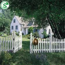 China Decorative Garden Fence Cheap White Vinyl Picket Fencing For Sale China White Picket Fence Vinyl Picket Fence