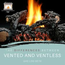 vented and ventless gas log
