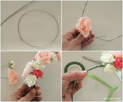diy flower crown headband diy inspired