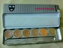kryolan supracolor makeup palette with