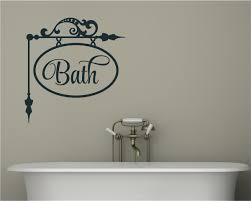 Bath Bathroom Decor Vinyl Decal Wall Stickers Words Saying
