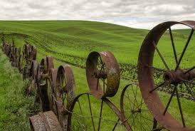Steve Kidd Photography The Palouse Wagon Wheel Fence