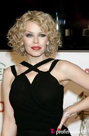Kylie minogue, Curly hair ...