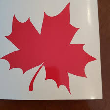 Best Maple Leaf Car Decal For Sale In Victoria British Columbia For 2020