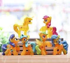 horse my little pony mini figurines