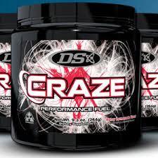 craze pre workout supplement