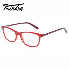 kirka eyeglasses frame red color