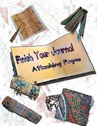 Inside KathyAnne Art: How to attach a page | Journal, Art journal, It is  finished