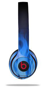 Beats Solo2 Solo3 Wireless Skins Fire Blue Wraptorskinz