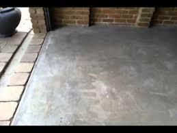 after acid etch concrete floor you