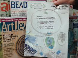 art jewelry magazine adver