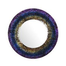 purple wall mirrors mirrors the