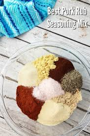 best homemade pork rub seasoning mix