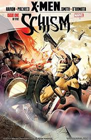 Amazon | X-Men: Schism #1 (of 5) (English Edition) [Kindle edition] by  Aaron, Jason, Pacheco, Carlos, Pacheco, Carlos, Smith, Cam | Superheroes |  Kindleストア