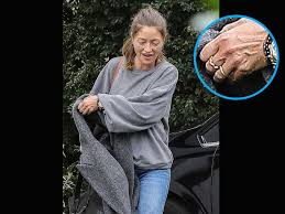 Rebecca Gayheart Steps Out for First Time Since Filing for Divorce ...  Still Wearing Ring?