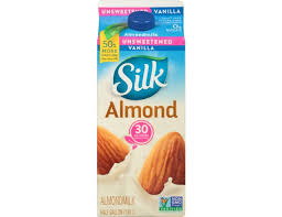 silk unsweetened pure vanilla almond