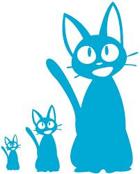 Amazon Com Jiji Decal Kiki Delivery Service Jiji Plush Cat Jiji Cat Stickers For Laptop Computer Apple Iphone Mac Air Macbook Pro Ipad A Jiji Plushie Vinyl Decals Sticker Ice Blue Home