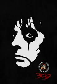 Alice Cooper Music Drawings Album Art Shock Rock
