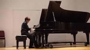 Wesley Kang Peabody Piano Week Jul 2019 Chopin Waltz E minor op posthumous  - YouTube