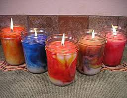 how to make jar candles