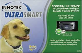 Amazon Com Innotek Ultrasmart Contain And Train Wireless Pet Fence Products Pet Supplies
