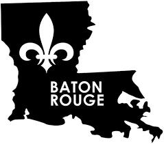 Amazon Com Jb Print Baton Rouge Louisiana Fleur De Lis Vinyl Decal Sticker Car Waterproof Car Decal Bumper Sticker 5 Kitchen Dining